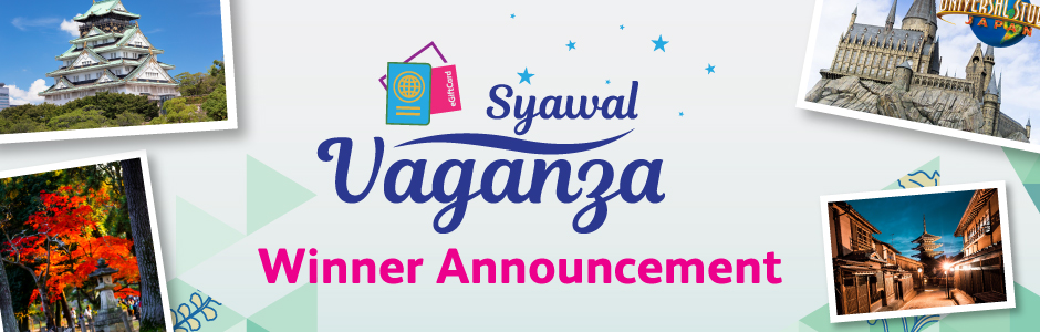 Syawal Vaganza Winner Announcement