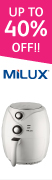 Milux : Up to 40% off 52x180