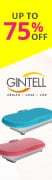 Gintell Up to 75% OFF 52x180