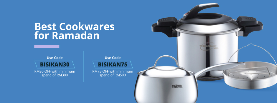 Bisikan Ramadan - Best Cookwares for Ramadan 940x220