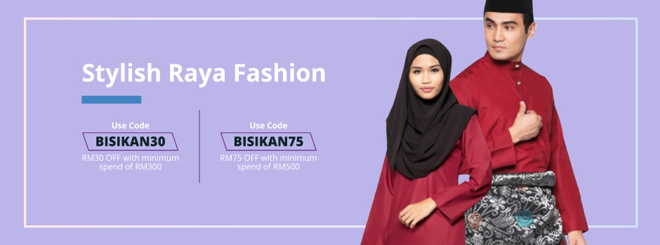 Bisikan Ramadan - Stylish Raya Fashion 940x220