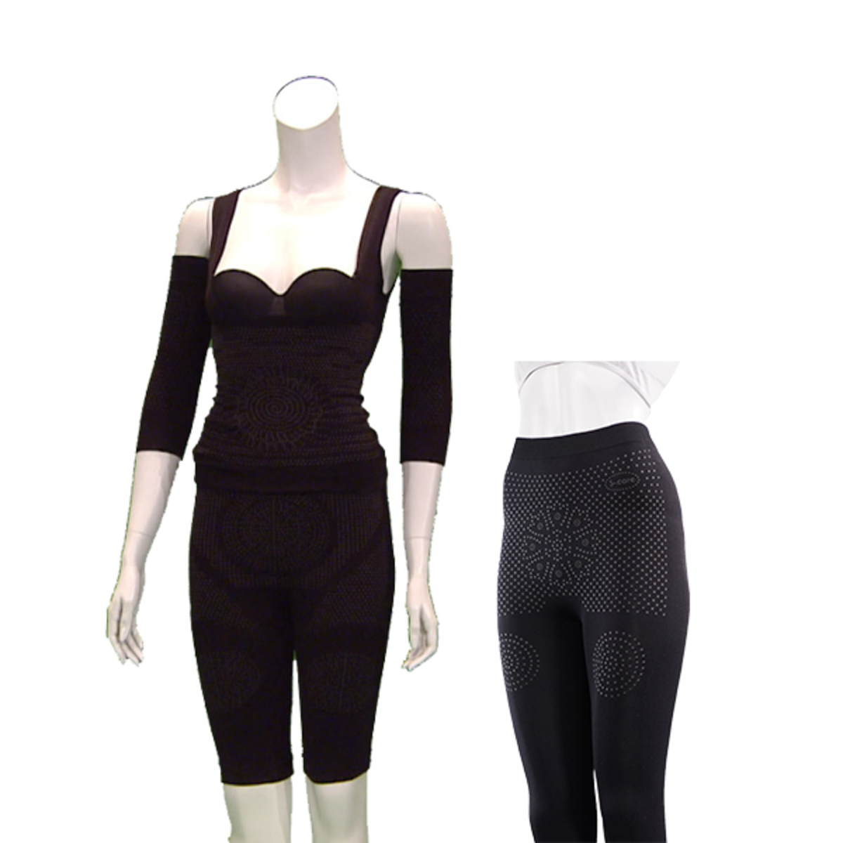 8b7bd4ed662f5 S-Care Body Shaper with Ion Legging