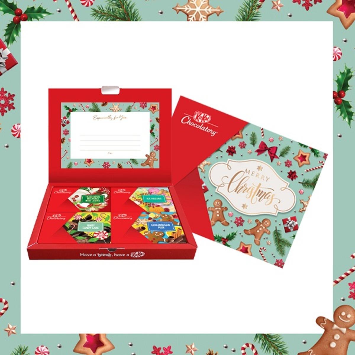 KITKAT Merry Christmas Gift Pack option 2   Go Shop
