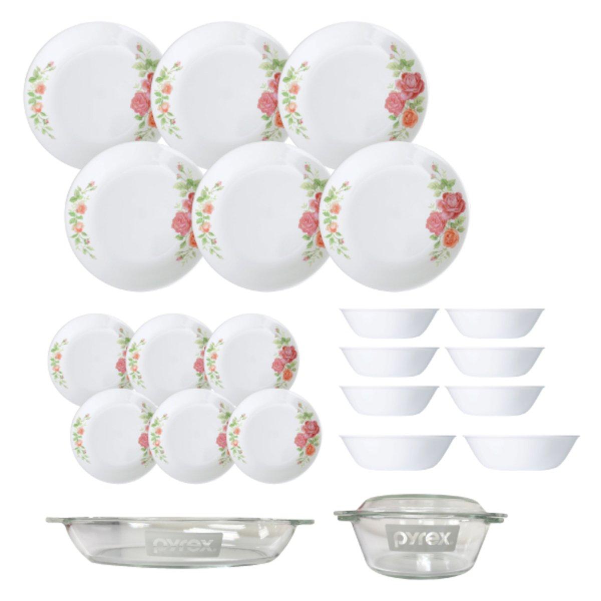 Corelle Dinnerware Set_Rosabelle  sc 1 st  Go Shop & Corelle Dinnerware Set_Rosabelle | Go Shop