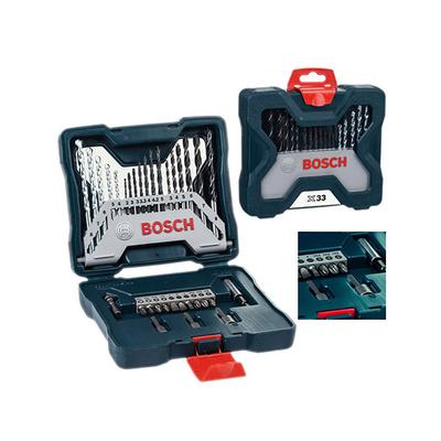 Bosch 50 Piece X Line Accessory Set Drill Bits Bit NEW FREE P/&P