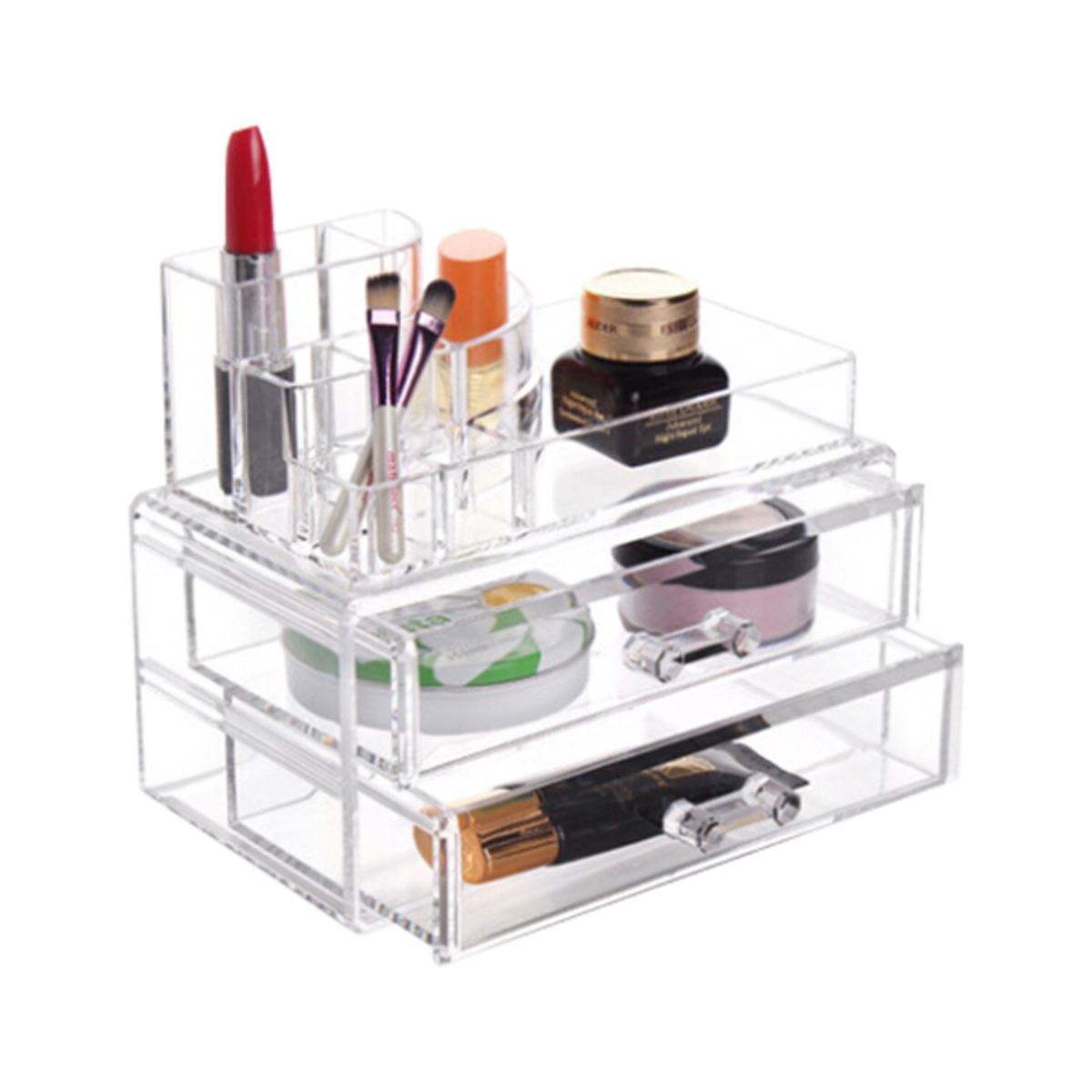 drawer unleashed velvet divider drawers storage crafts organizer image trays jewelry box of uk