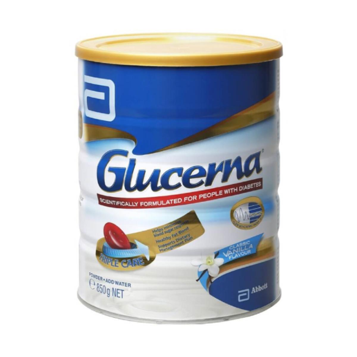 Glucerna Triple Care Milk Powder 850g 18184 Go Shop Nutren Diabetes