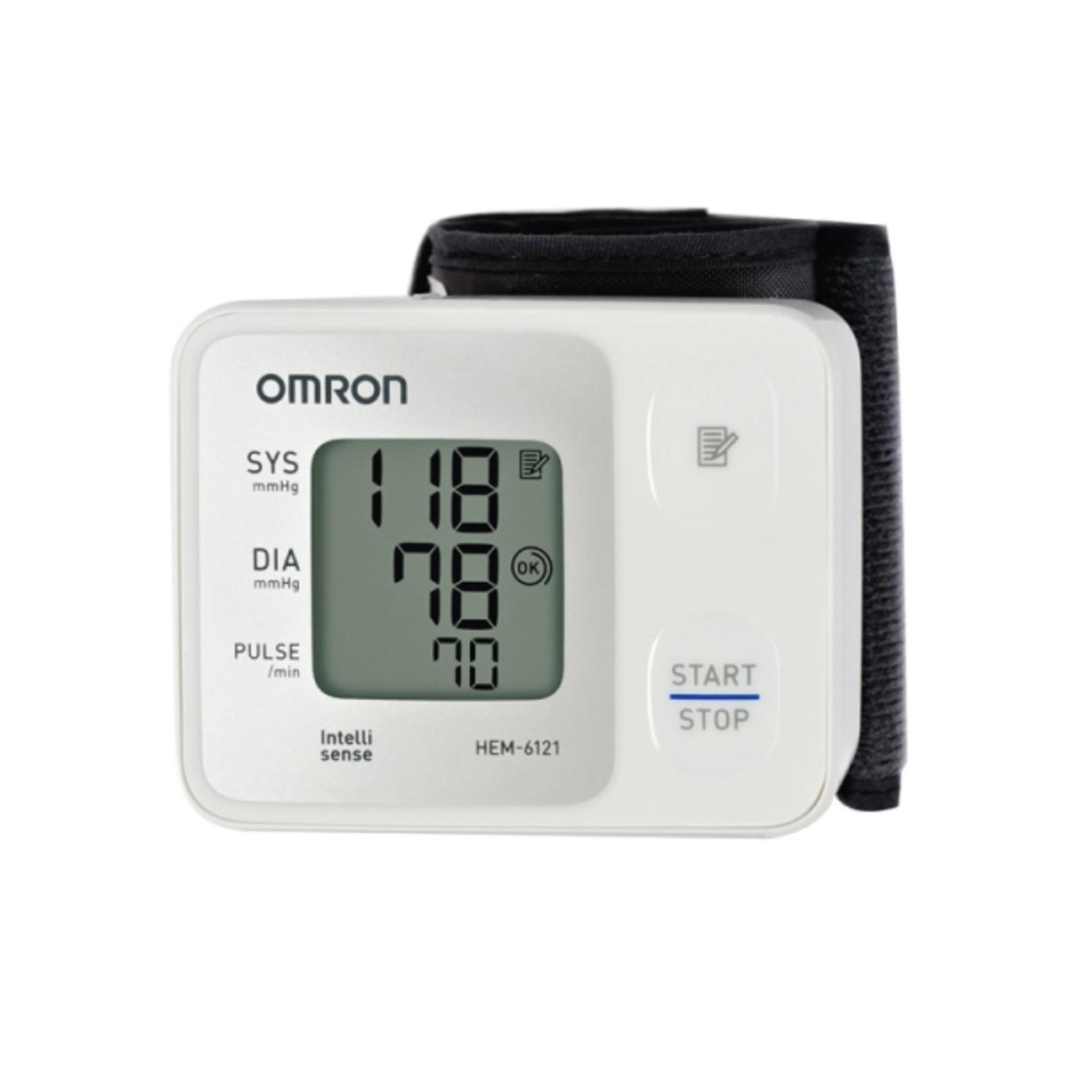 Omron Basic Wrist Blood Pressure Monitor Hem 6121 Go Shop