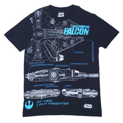 Star wars millennium falcon blueprint round neck t shirt for men star wars millennium falcon blueprint round neck t shirt for menblacke1n0070001320103 go shop malvernweather Choice Image