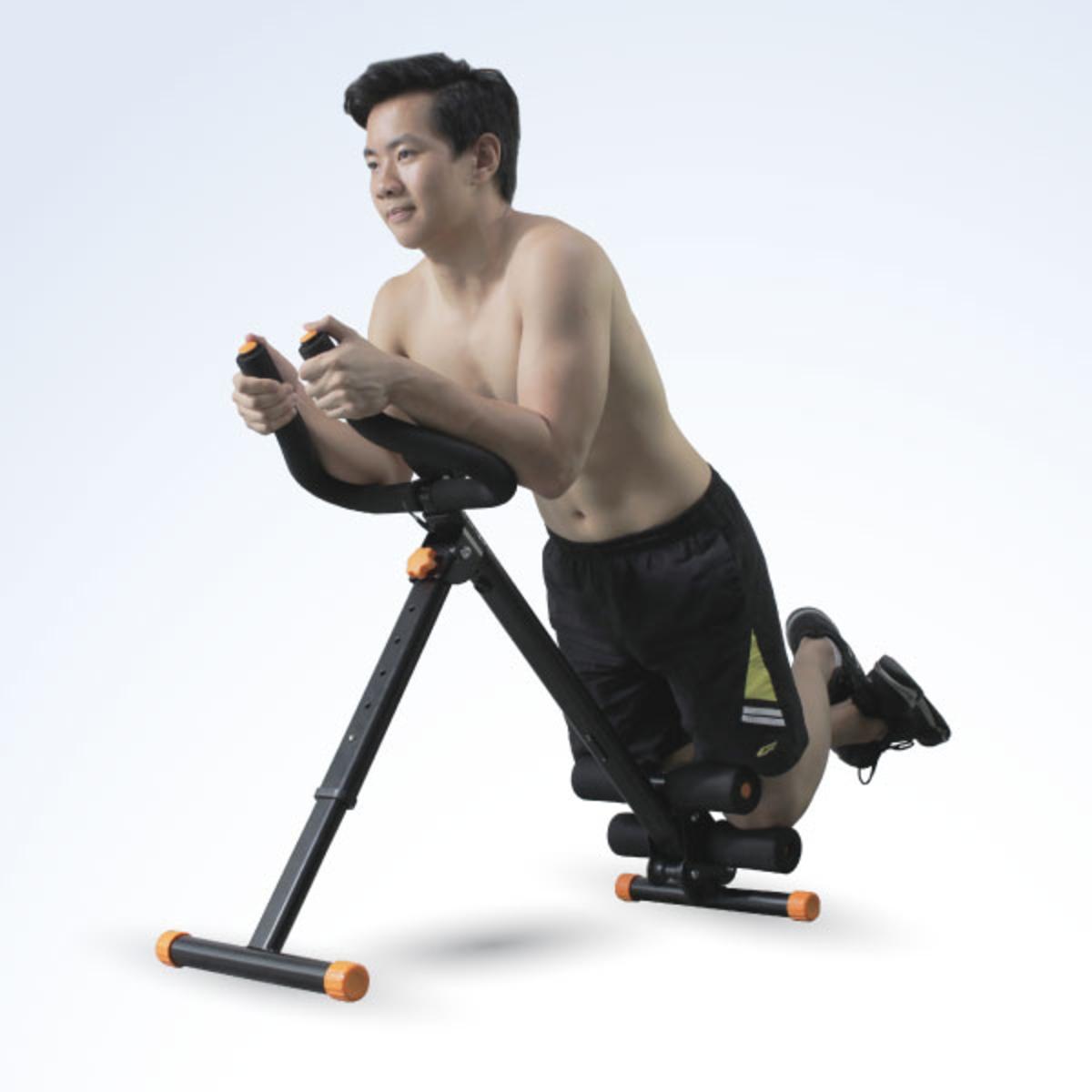 ab fitness 5 minutes shaper with lose belly fat slimming belt black lazada ph. Black Bedroom Furniture Sets. Home Design Ideas