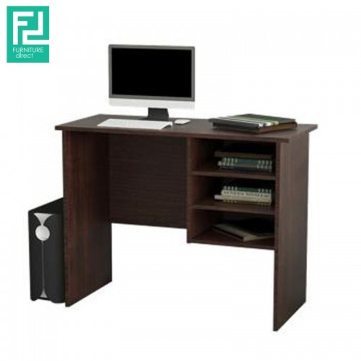 Furniture Direct 3 Feet Study Desk With Drawers