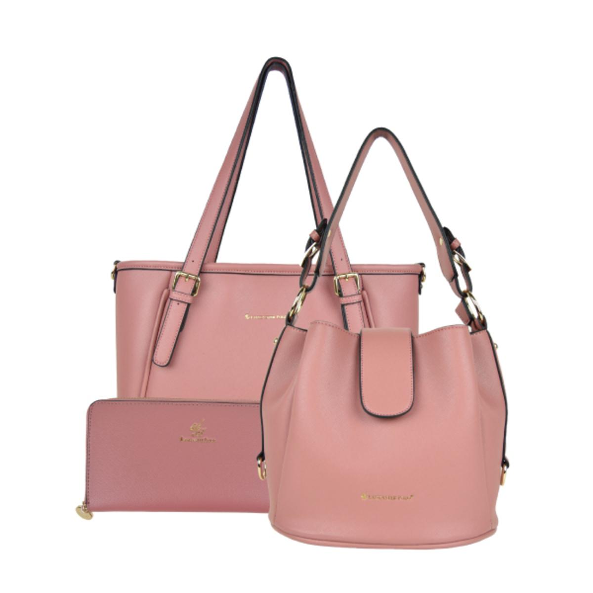 ab693da99d Lancaster Polo Saffiano Handbag Set