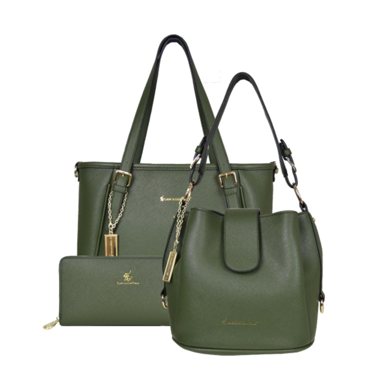 6d3fa752b6 Lancaster Polo Saffiano Handbag Set | Go Shop