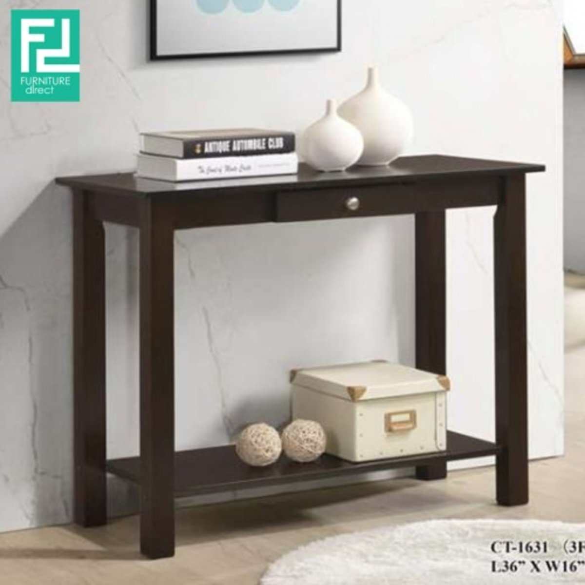 Furniture Direct 3 Ft Console Table Cst 1631