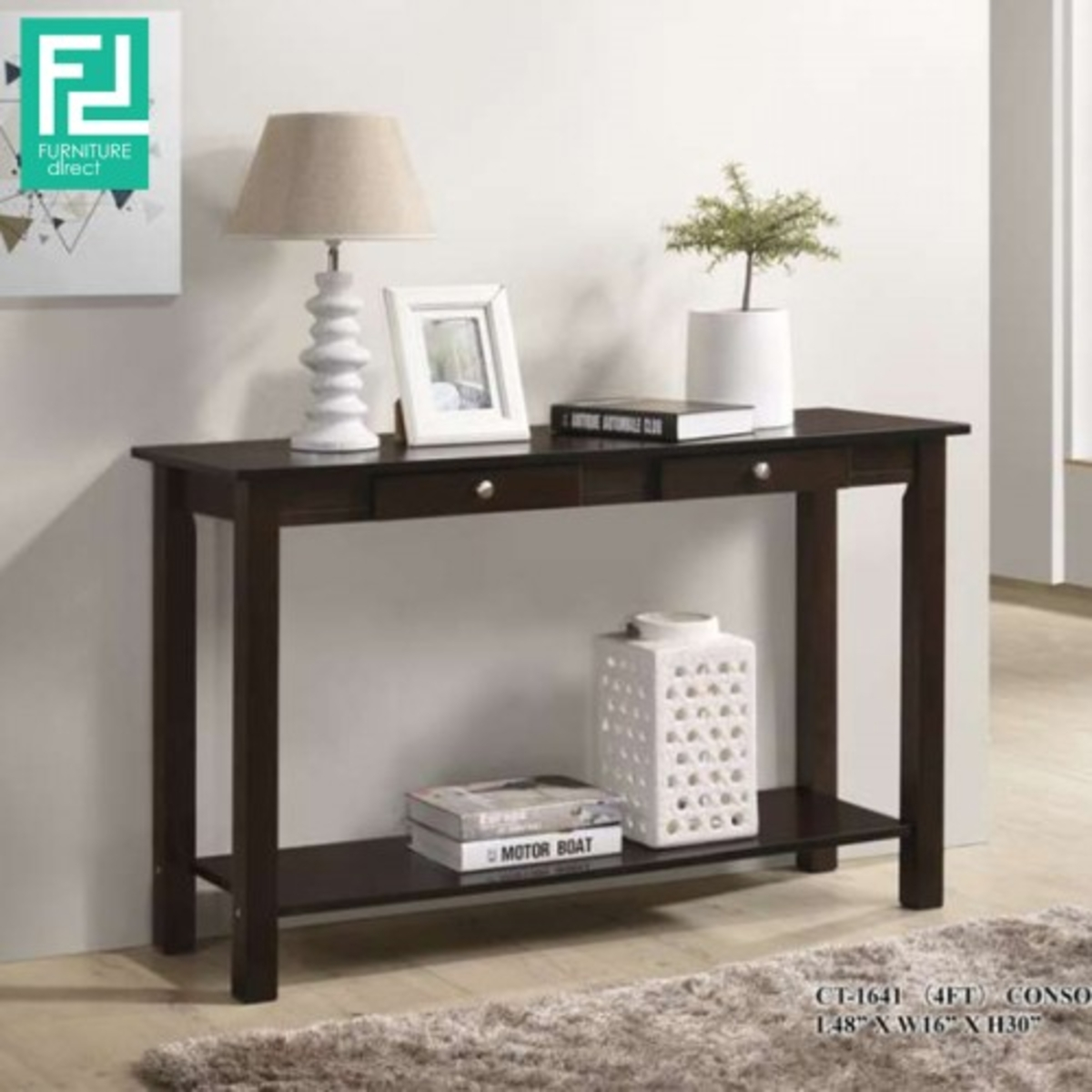 Furniture Direct 4 Ft Console Table Ct 1641