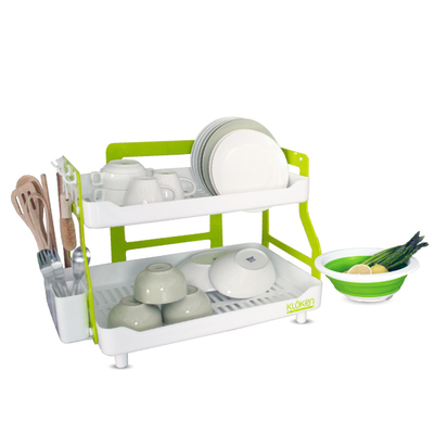 Kloken 2 Layers Dish Rack | GOSHOP