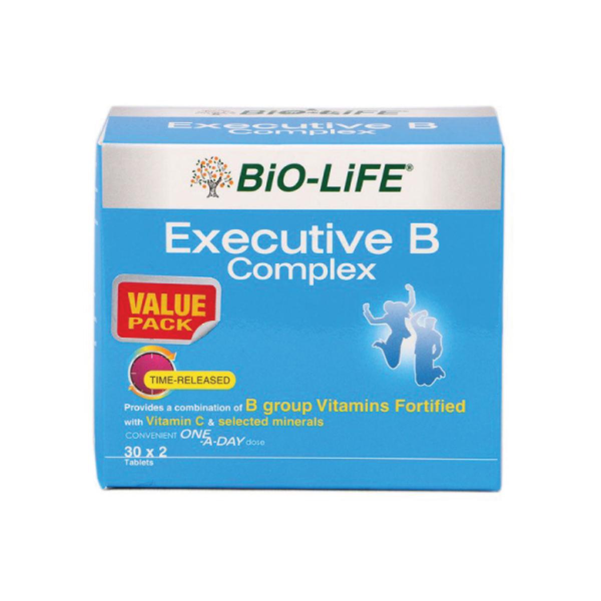 bio-life executive b complex 30sx2 (12082) | go shop