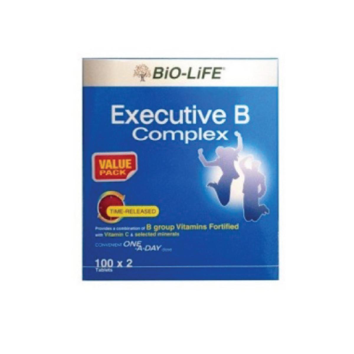 bio-life executive b complex 100sx2 (12083) | go shop