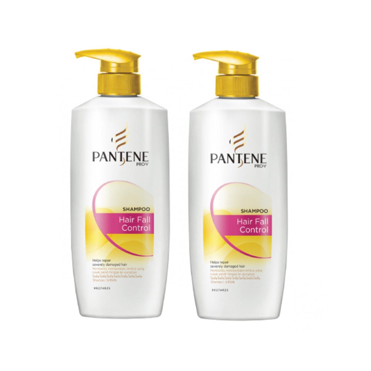 Pantene Shampoo Total Damage Care 670ml X2 Go Shop Sampo Hairfall Control 750ml Rm4434