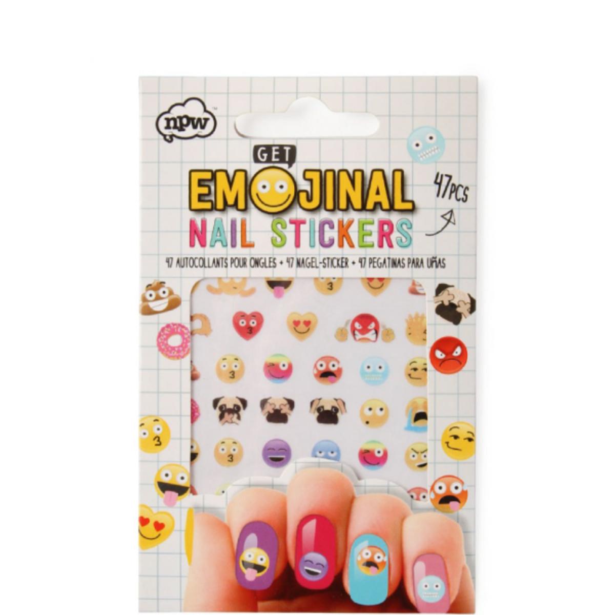 Fantástico Emoji Uñas Ideas - Ideas de Diseño de Arte de Uñas ...