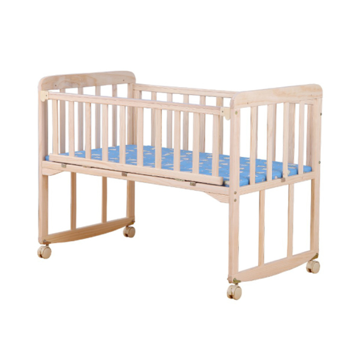 Wooden Baby Cradle Cots Bed Go Shop