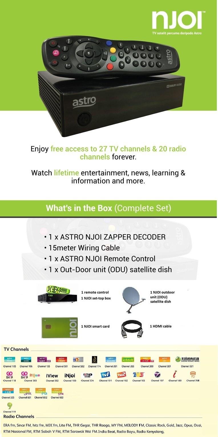 Astro NJOI TV Box | Go Shop