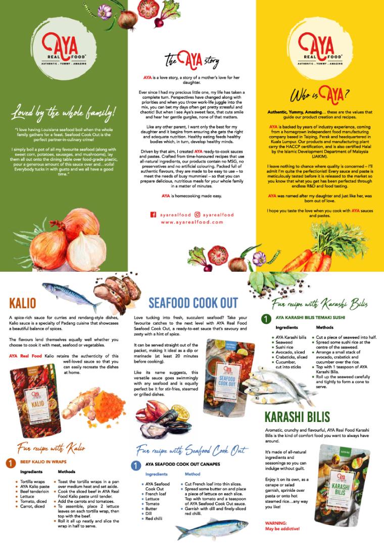 AYA Real Food Karashi Bilis 500g | Go Shop