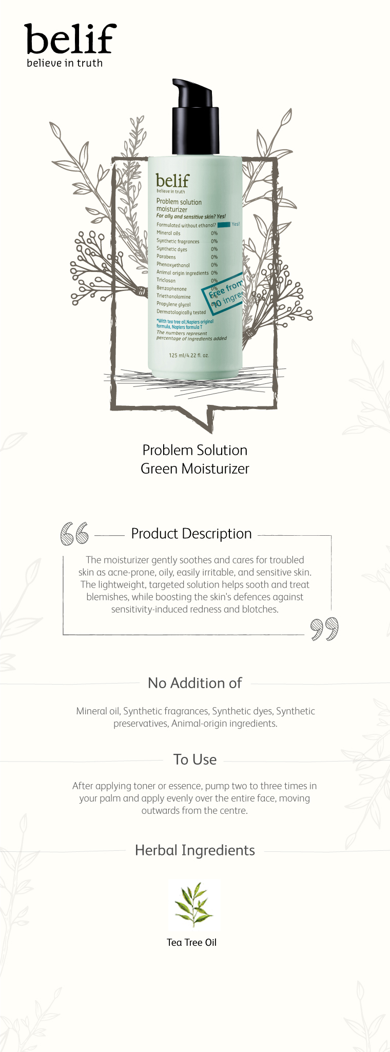Problem Solution Moisturizer by belif #19