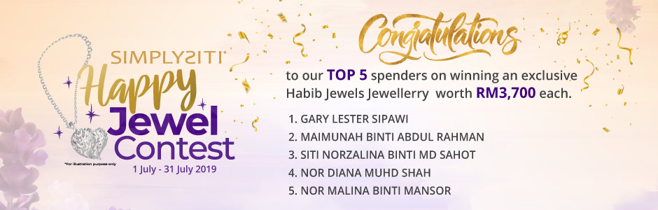 Happy Jewel Contest Winners