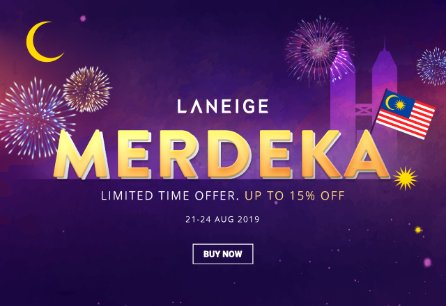 Laneige - up to 15% off 640x440