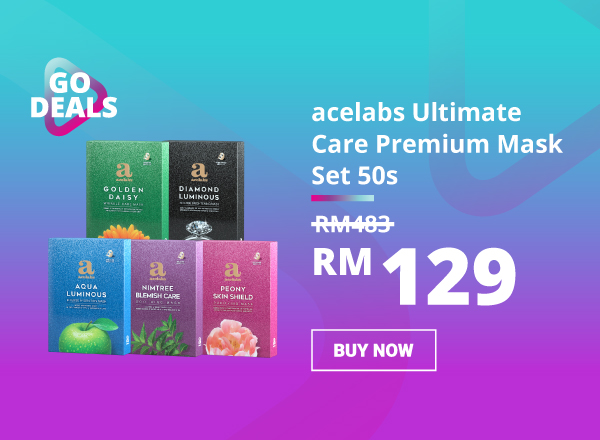 GO Deal -acelabs Ultimate Care Premium Mask Set 50s 600 x 440