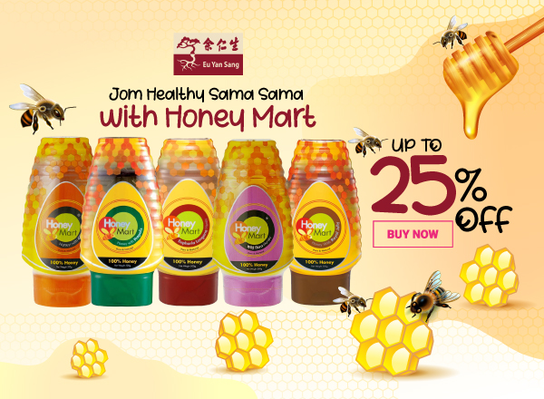 Eu Yan Sang x Honey Mart - Up to 25 600 x 440