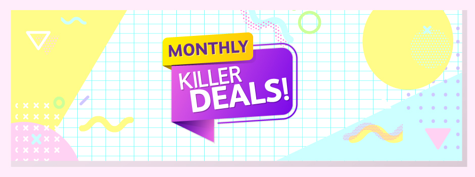 Absolutely Febulous - Monthly Killer Deals 940x